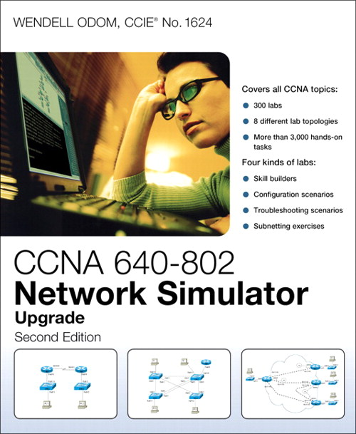 CCNA ICND2 640-816 Network Simulator Upgrade, 2nd Edition