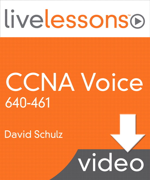 CCNA Voice 640-461 LiveLessons (Video Training)