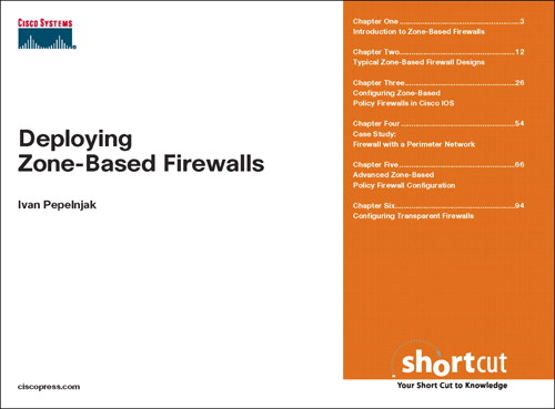 Deploying Zone-Based Firewalls (Digital Short Cut)