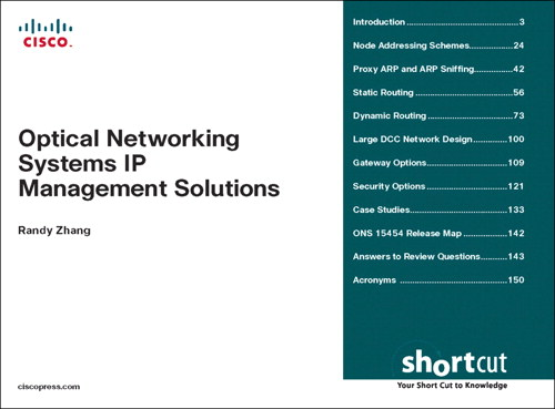 Optical Networking Systems IP Management Solutions (Digital Short Cut)