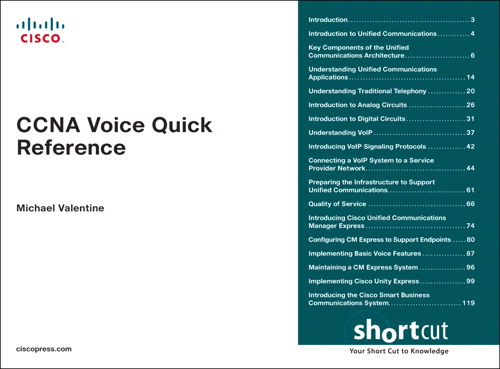 CCNA Voice Quick Reference (Digital Short Cut)