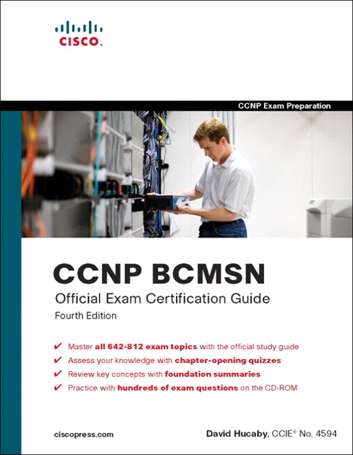 CCNP BCMSN Official Exam Certification Guide, Adobe Reader, 4th Edition