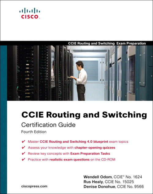 CCIE Routing and Switching Certification Guide, Adobe Reader, 4th Edition