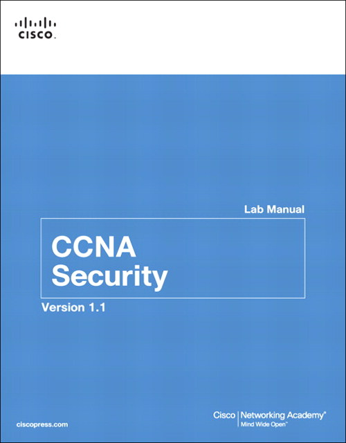 CCNA Security Lab Manual Version 1.1, 2nd Edition