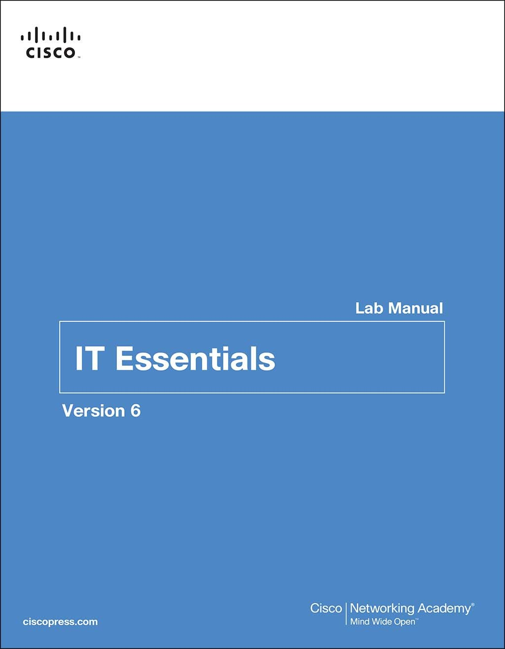 IT Essentials Lab Manual, Version 6, 6th Edition