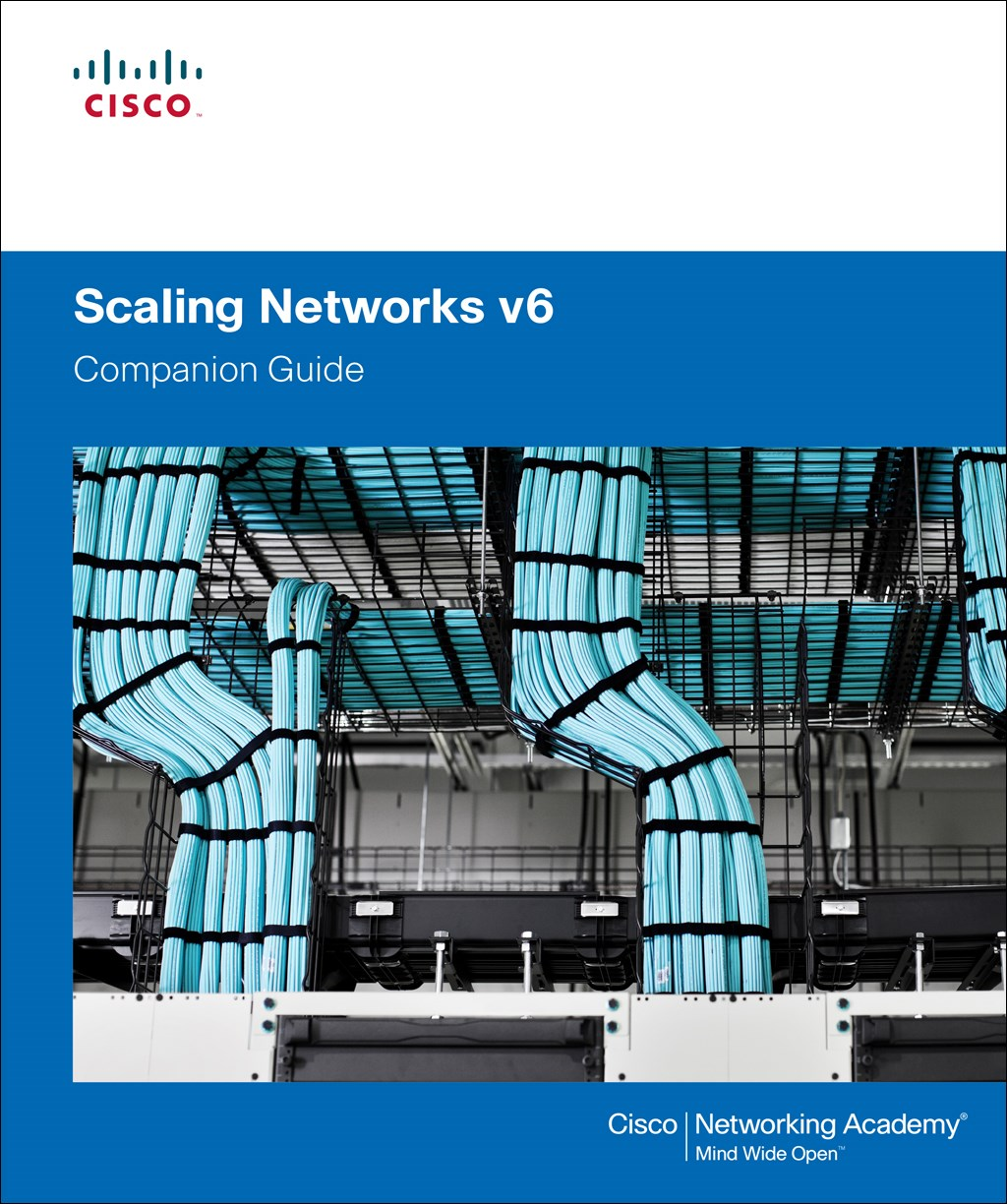Scaling Networks V6 Companion Guide Cisco Network Diagram Design Elements Routers Win Mac Larger Cover