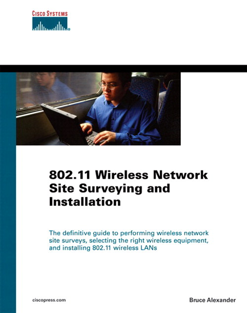 802.11 Wireless Network Site Surveying and Installation (paperback)