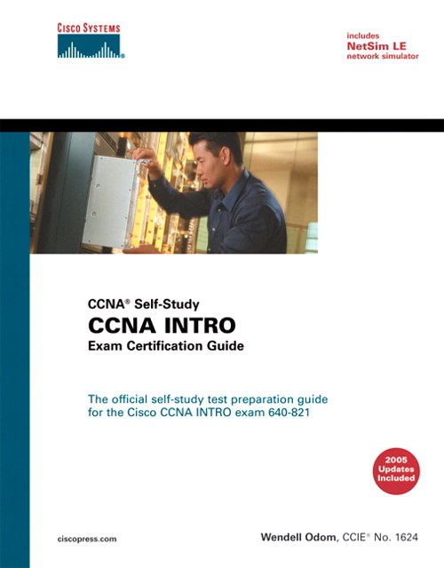 CCENT/CCNA ICND1 640-822 Official Cert Guide - Pearson