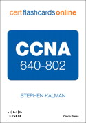 CCNA 640-802 Cert Flash Cards Online