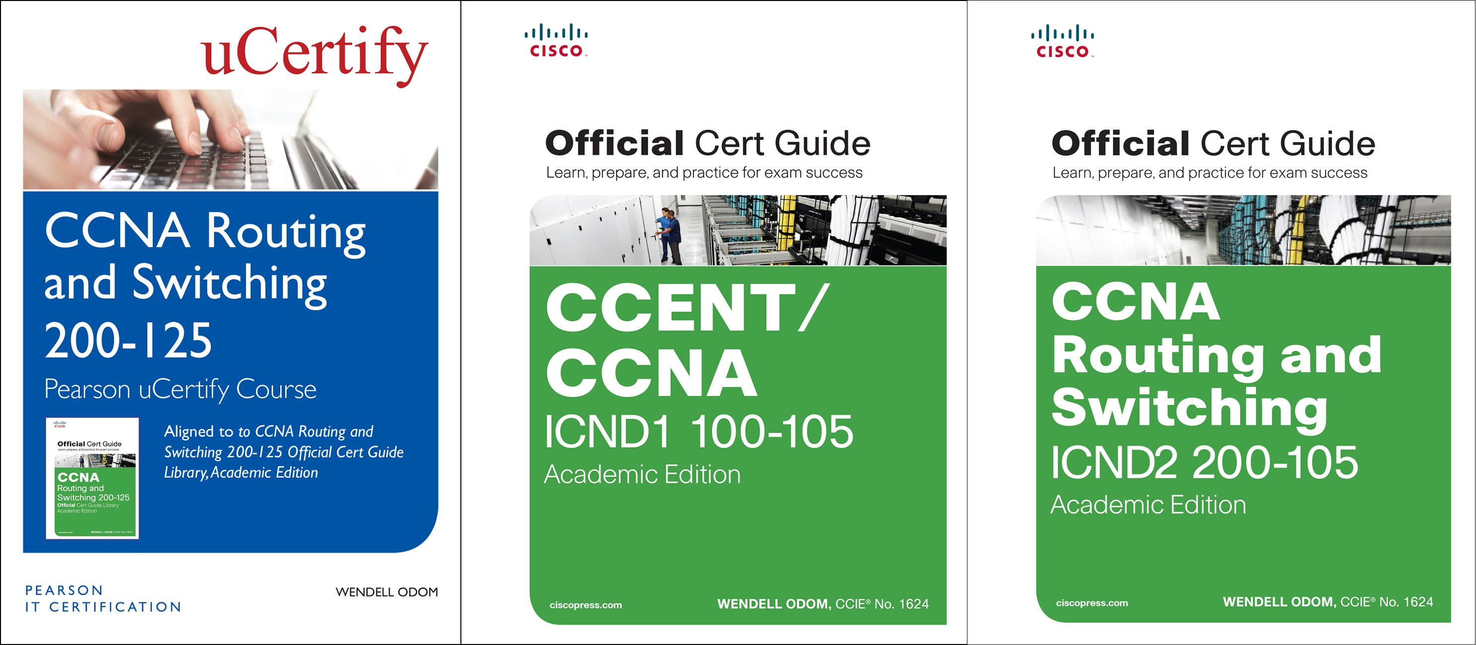 CCNA Routing and Switching 200-125 Pearson uCertify Course and