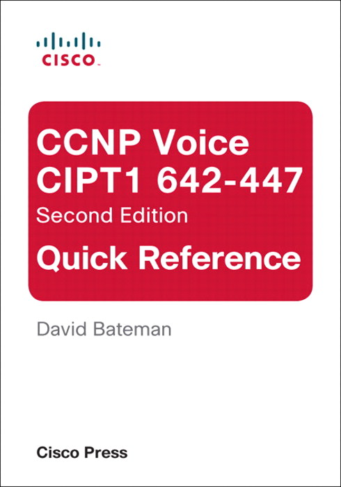 CCNP Voice CIPT1 642-447 Quick Reference
