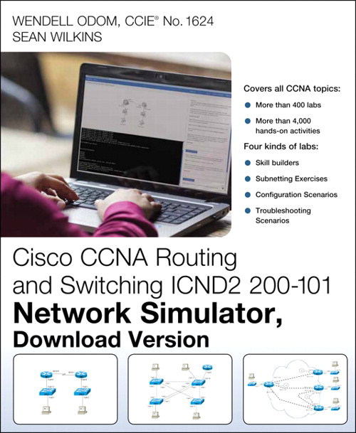 CCNA Routing and Switching ICND2 200-101 Network Simulator, Download Version