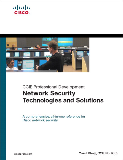 Security Technologies and Solutions (CCIE Professional Development ...