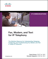 Fax, Modem, and Text for IP Telephony