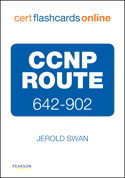 CCNP ROUTE 642-902 Cert Flash Cards Online
