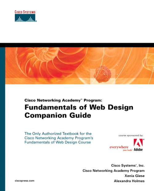 Fundamentals of Web Design Companion Guide (Cisco Networking Academy Program)