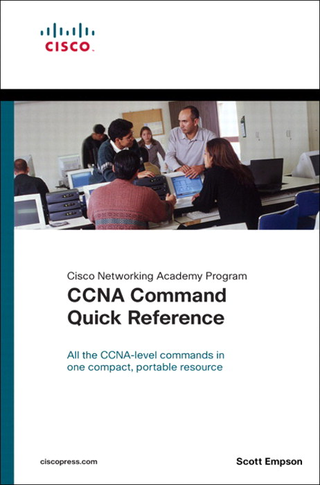 CCNA Command Quick Reference (Cisco Networking Academy Program)