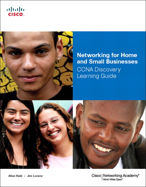 Networking for Home and Small Businesses, CCNA Discovery Learning Guide