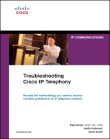 Troubleshooting Cisco IP Telephony (paperback)