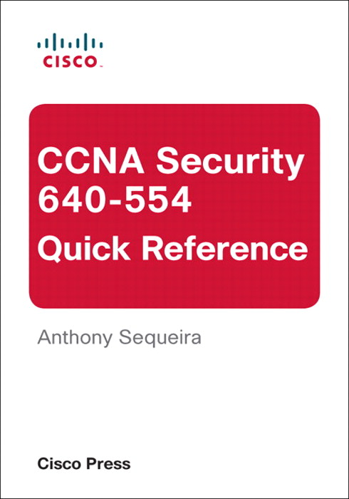 CCNA Security 640-554 Quick Reference