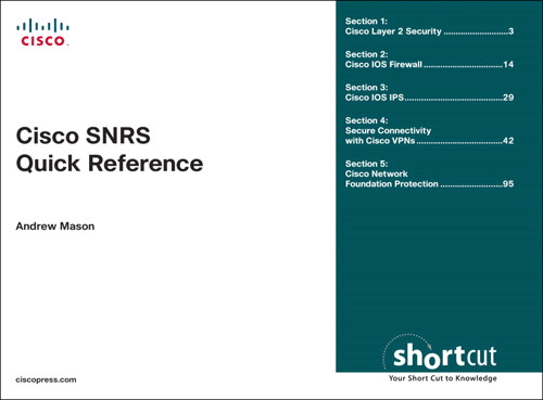 CCSP SNRS Quick Reference