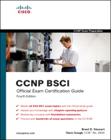 CCNP BSCI Official Exam Certification Guide, 4th Edition