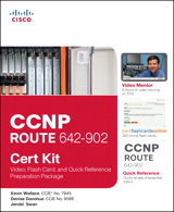 CCNP ROUTE 642-902 Cert Kit: Video, Flash Card, and Quick Reference Preparation Package