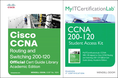 Cisco CCNA Routing and Switching 200-120 Acad Ed, MyITCertificationlab Library Bundle