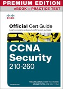 >CCNA Security 210-260 Official Cert Guide Premium Edition eBook and Practice Test