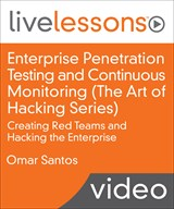 Enterprise Penetration Testing and Continuous Monitoring (the Art of Hacking Series) LiveLessons